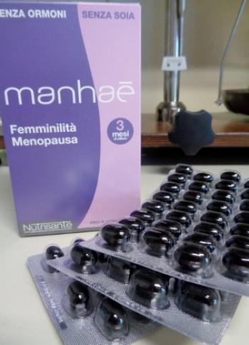 Manhaé 90 capsule, per contrastare i disturbi della menopausa