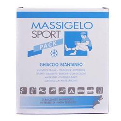 MASSIGELO SPORT PACK GHIACCIO ISTANTANEO 2 BUSTINE