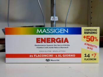 Massigen Energia 21 flaconcini