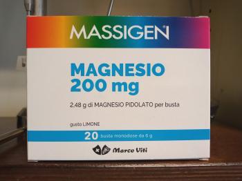 Massigen Magnesio Pidolato Bustine