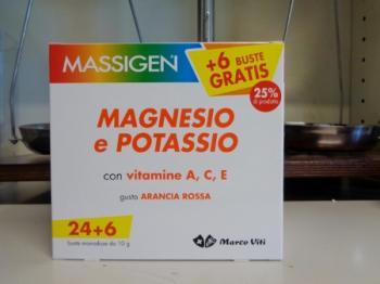 Massigen Magnesio Potassio bustine