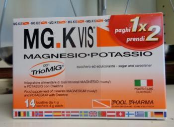 Mg.K Vis Magnesio, Potassio e Creatina