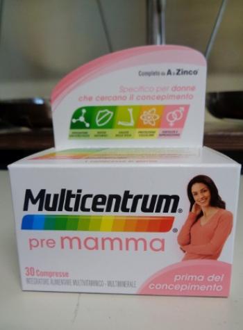 Multicentrum PRE MAMMA, integratore prima del concepimento