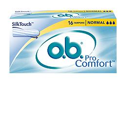 OB normal pro comfort, 16 assorbenti interni flusso medio-legger