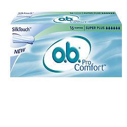 OB super plus pro comfort 16 assorbenti per flusso molto intenso