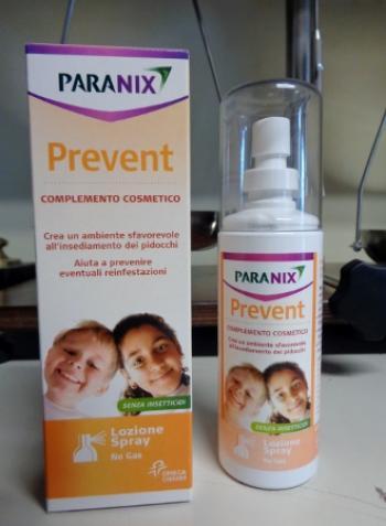 PARANIX spray no-gas, preventivo anti pidocchi