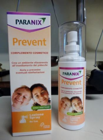 PARANIX spray no-gas, preventivo anti pidocchi
