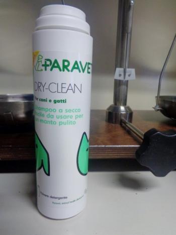 Paravet Dry-Clean shampoo a secco per cani e gatti