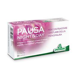 PAUSA NIGHT&DAY capsule, integratore per la menopausa