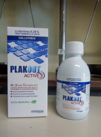 PlakOut Active Colluttorio alla Clorexidina 0,20%