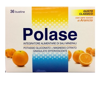 POLASE Gusto Arancia 36 bustine POTASSIO - MAGNESIO