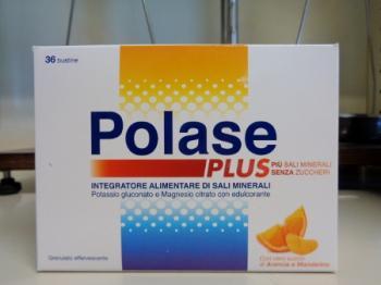 Polase Plus 36 bustine, integratore di Magnesio e Potassio