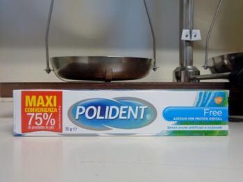 POLIDENT FREE crema adesiva per dentiere 70 g