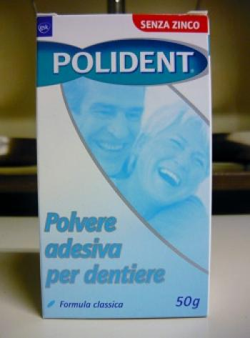 POLIDENT polvere adesiva per dentiere 50g