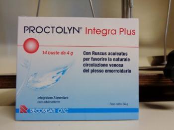 Proctolyn Integra Plus 14 bustine, Emorroidi e Vene dolenti