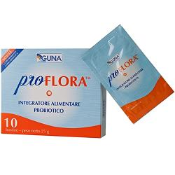 Proflora 30 bustine, probiotico e prebiotico