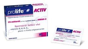 PROLIFE ACTIV 10 bustine con fermenti lattici e vitamina B