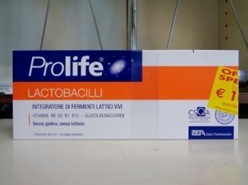 Prolife Zeta 14 flaconi, Fermenti Lattici - Benessere intestino