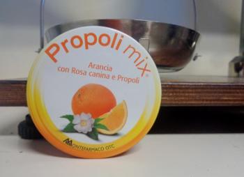 Propoli Mix caramelle per la gola Gusto Arancia