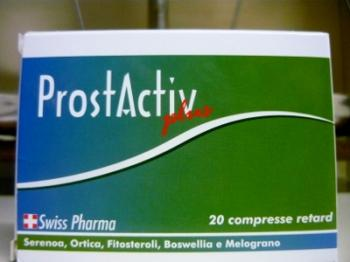 ProstActiv plus integratore per prostata e vie urinarie