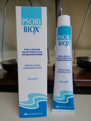 PsoriBiox Crema Fluida Idratante per Pelli Desquamanti