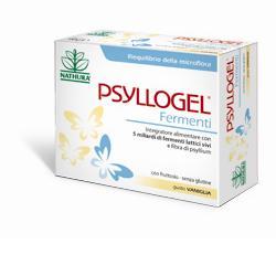 PSYLLOGEL, fibra di psyllium con fermenti lattici vivi in bustin