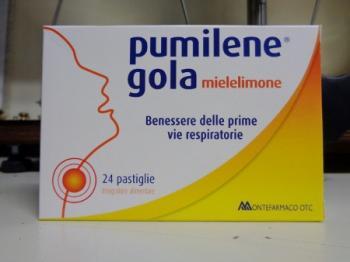 Pumilene Gola Miele - Limone 24 pastiglie