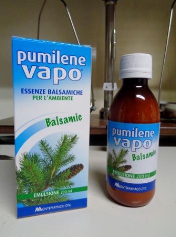 Pumilene Vapo emulsione, essenze balsamiche per ambiente
