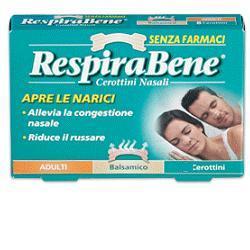 RESPIRABENE cerotti nasali balsamici per adulti