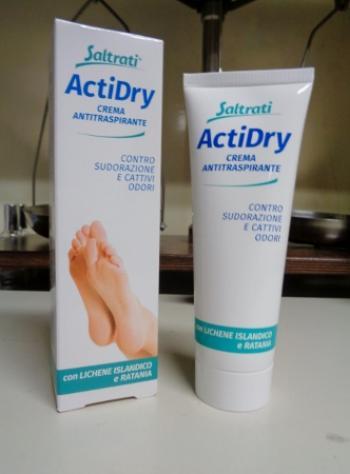 Saltrati ActiDry crema antitraspirante per i piedi
