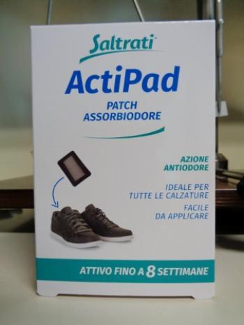 Saltrati ActiPad, 4 patch contro l'odore di piedi e scarpe