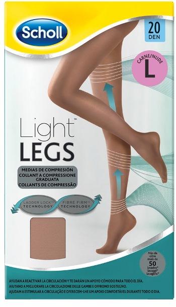 Scholl Light Legs 20 denari Large colore Nude - Carne