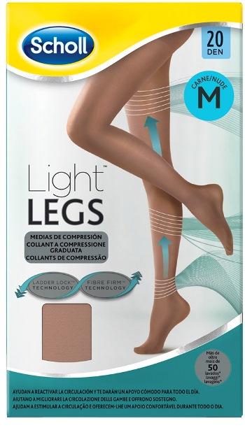 Scholl Light Legs 20 denari Medium colore Nude - Carne