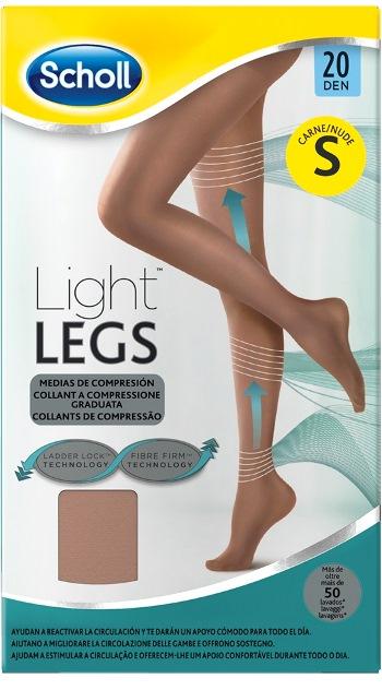 Scholl Light Legs 20 denari Small colore Nude - Carne