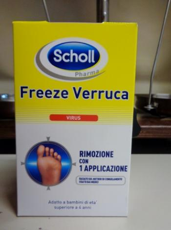 Scholl's Freeze Verruca con sistema di applicazione