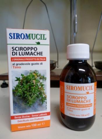 SIROMUCIL, gusto TIMO, Sciroppo di Lumache per la tosse