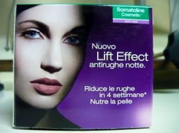 Somatoline Cosmetic Lift Effect Antirughe Notte 4D