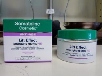 Somatoline Cosmetic Lift Effect Viso 4D Crema Antirughe GIORNO