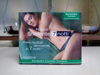 Somatoline Cosmetic Snellente 7 notti vaso da 250 ml
