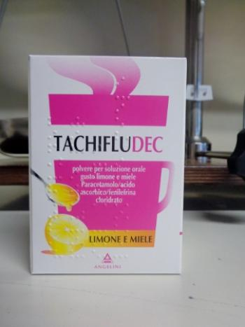 Tachifludec 10 bustine Gusto Miele Limone