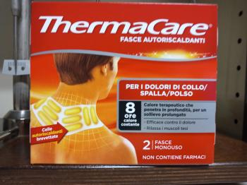 Thermacare schiena 2 fasce autoriscaldanti