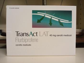 TransAct Lat 10 cerotti medicati