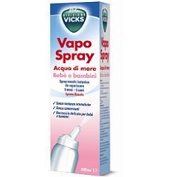 VICKS vapospray isotonica bebé e bambini 100ml per allergie