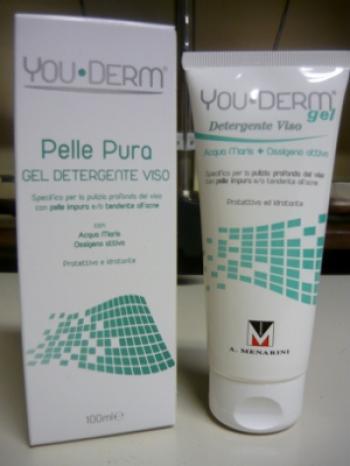 You-Derm Gel Detergente per Viso con tendenza all'Acne